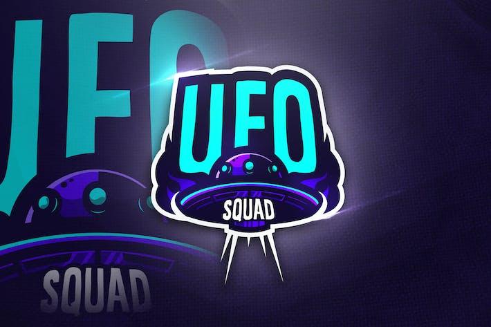 Thumbnail for UFO SQUAD- Mascot & Esport Logo