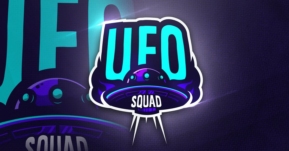 Download UFO SQUAD- Mascot & Esport Logo by aqrstudio