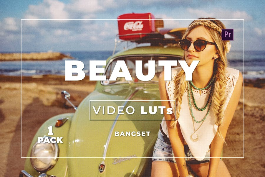 Пакет красоты Bangset 1 Видео LUTs