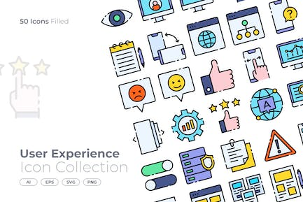 User Experience Filled Icon