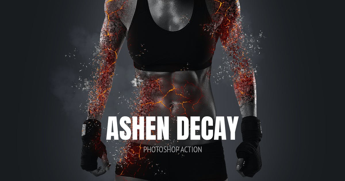 Download Ashen Decay Photoshop Action by 315700