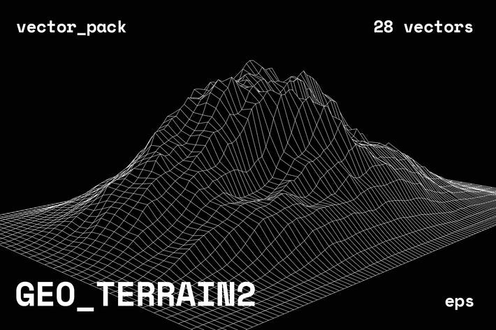 GEO\_TERRAIN2 Vektor -Pack