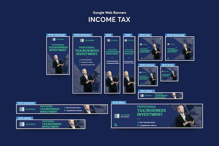 Thumbnail for Income Tax Banners Ad