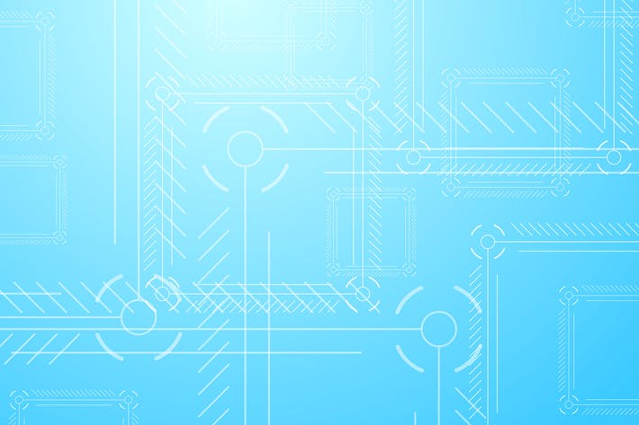 Thumbnail for Light blue abstract tech background