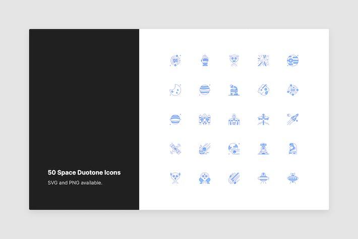 Raum Duotone Icons