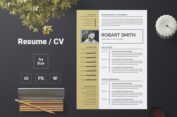 Thumbnail for Resume Template 61
