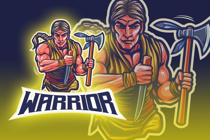 Thumbnail for Indian Warrior Esport Logo