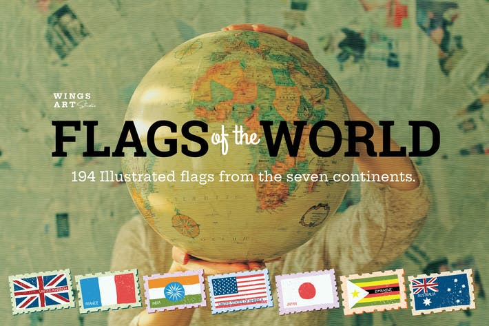 Thumbnail for Flags of the World Vector Illustrations