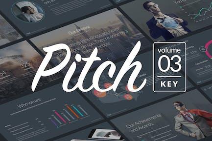 Pitch Vol.3 - Professional Keynote Template