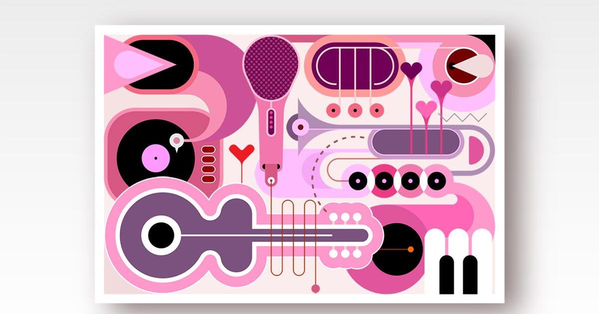 Download Abstract Music Background by danjazzia