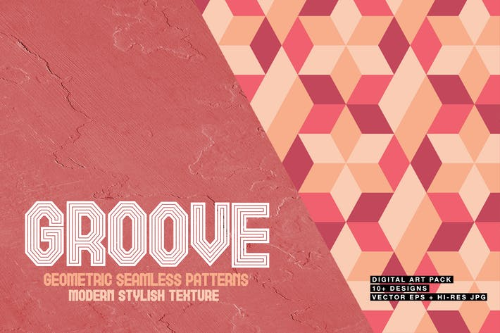 Thumbnail for Groove-Geometric Seamless Patterns
