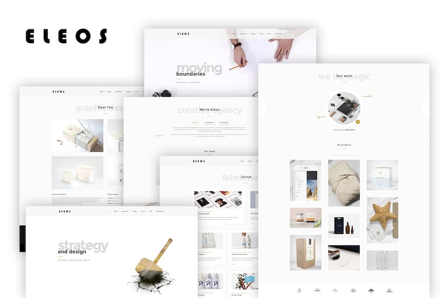 Eleos - One-Page Creative Template
