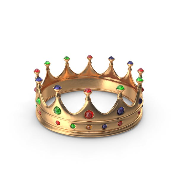 Crown with Mixed Gems