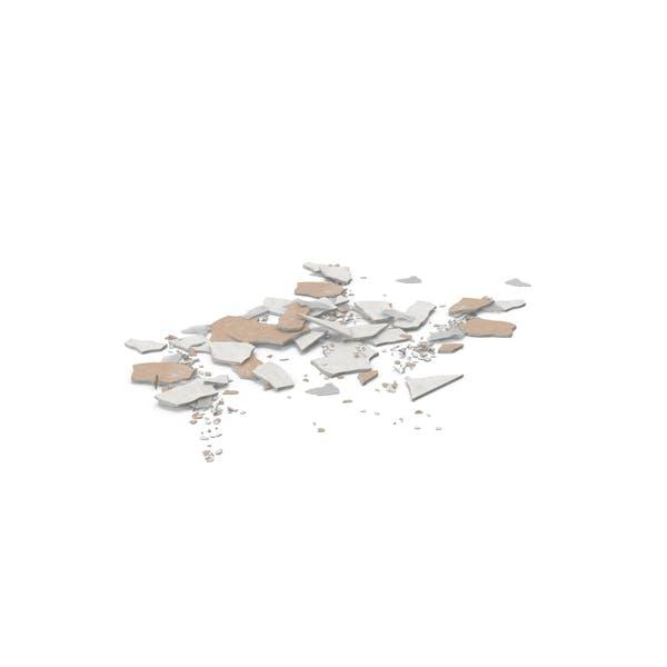 Thumbnail for Broken Sheetrock and Glass