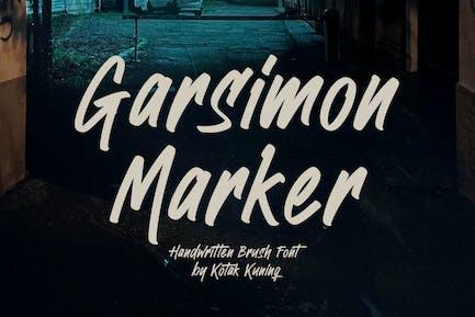 Garsimon Marker - Fuente de pincel