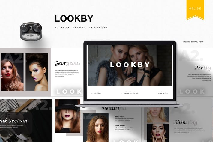 Thumbnail for Lookby | Google Slides Template