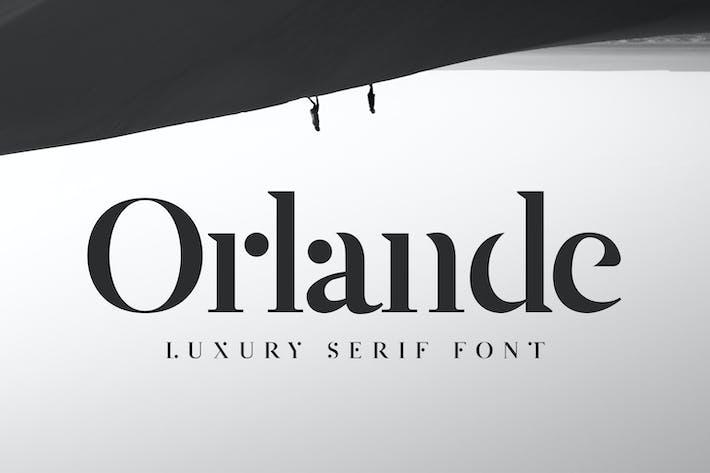 Thumbnail for Orlande - Luxury Serif Font