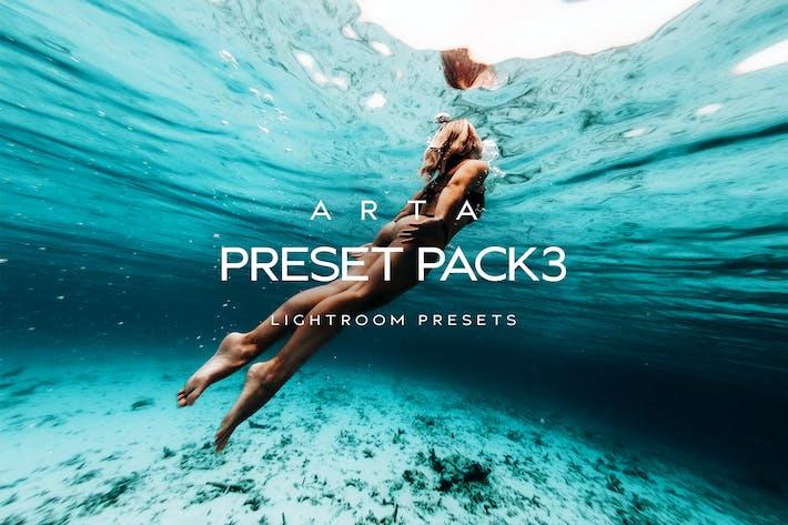 Thumbnail for ARTA Preset Pack 3 For Mobile and Desktop Lightroo