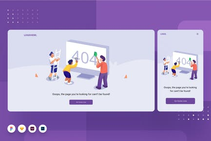 Error Page Template 02