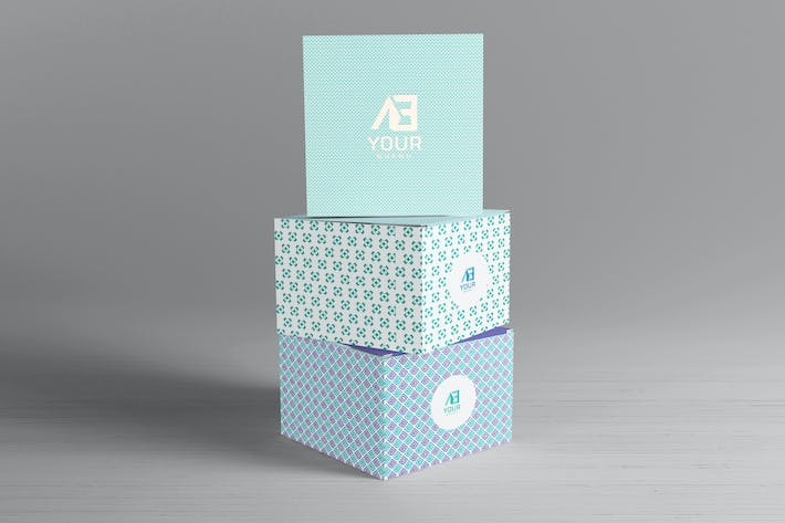 Thumbnail for Package Box Mockups Vol8