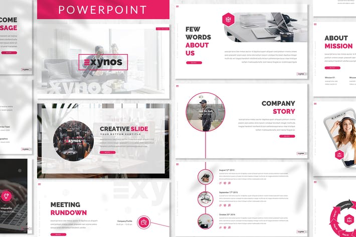 Thumbnail for Exynos - Business Powerpoint Template