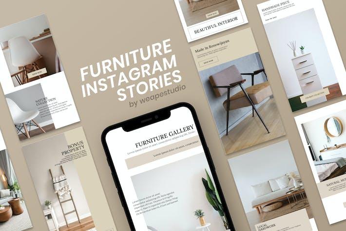 Thumbnail for Furniture Shop Instagram Stories