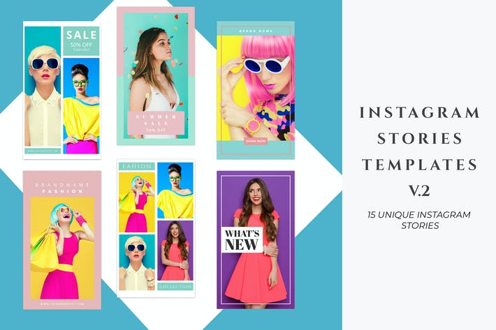 Thumbnail for Instagram Stories Templates Pack V.2