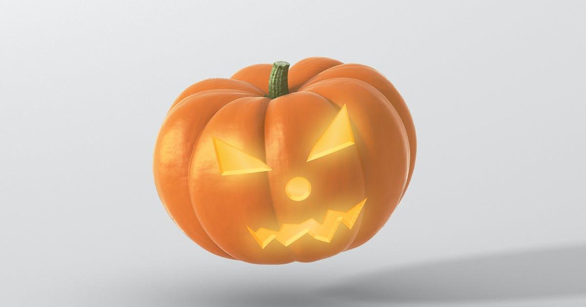 Download Halloween Pumpkin Mockup by visconbiz