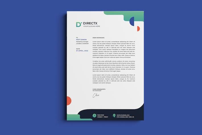 Thumbnail for Unternehmens-, Business Briefkopf & Rechnung