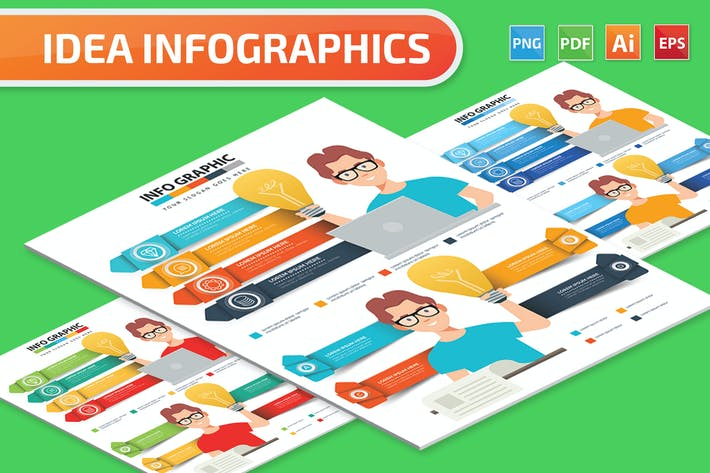 Thumbnail for Ideas Infographics