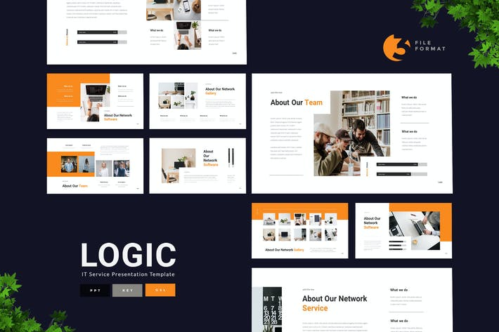 Thumbnail for Logic - IT Service Presentation Template