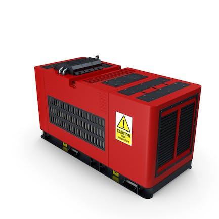 Diesel Generator Red