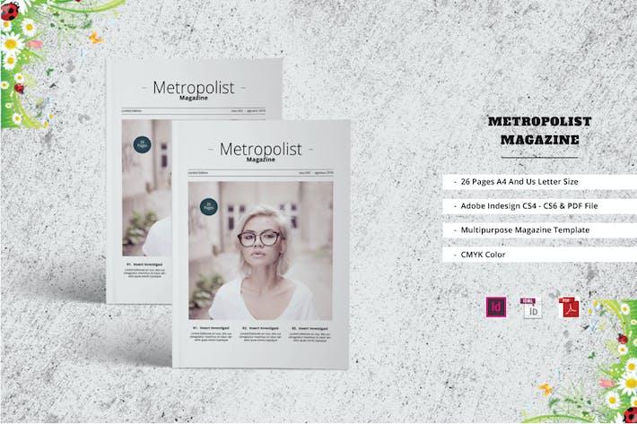 Thumbnail for Metropolist Magazine