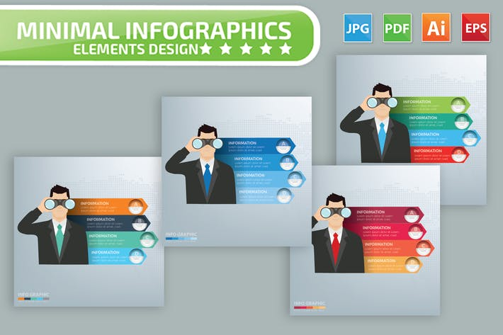Thumbnail for Vision Infographics Design