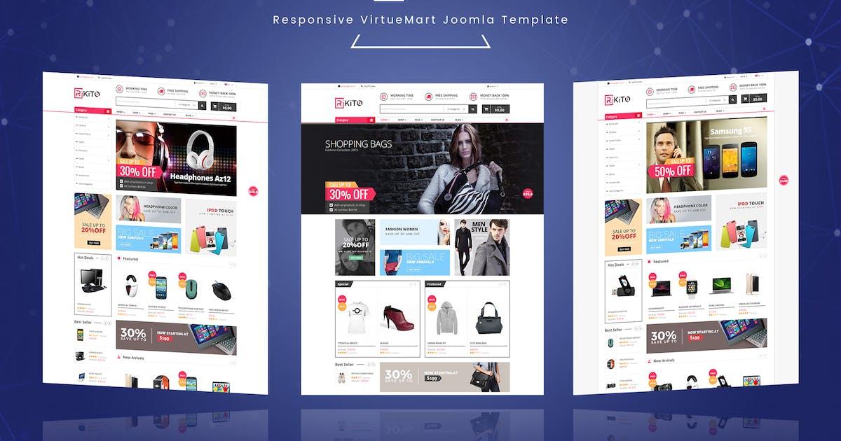 Download Rikito - Responsive VirtueMart Joomla Template by vinagecko