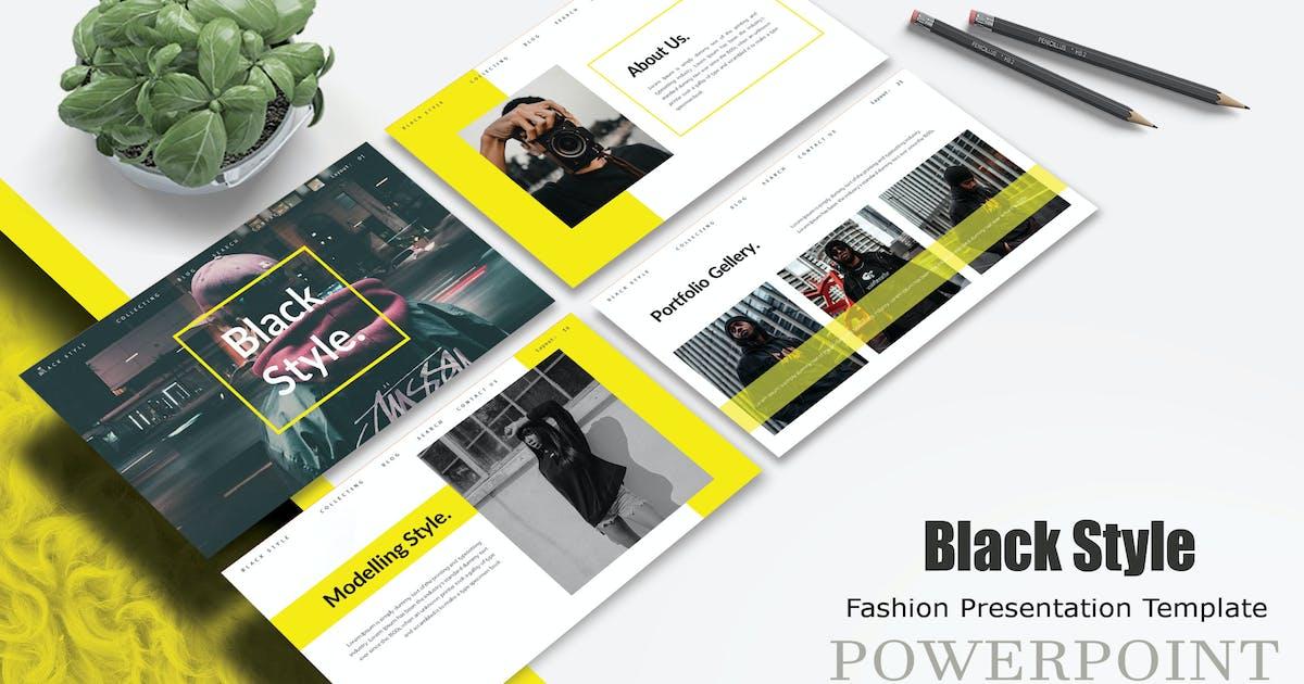 Download Black Style - Powerpoint Template by joelmaker