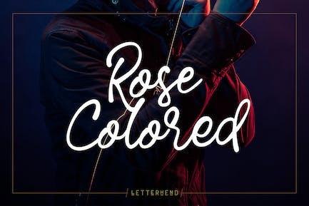 Rose Colored - Handwriting Script