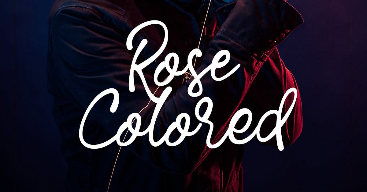 Download Rose Colored - Handwriting Script by letterhend