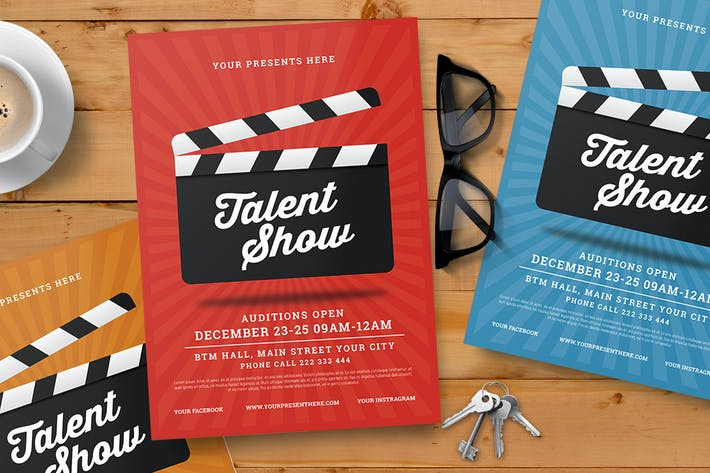 Thumbnail for Talent Show Flyer