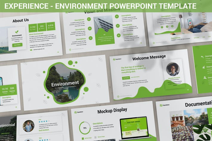 Thumbnail for Experience - Environment Powerpoint Template