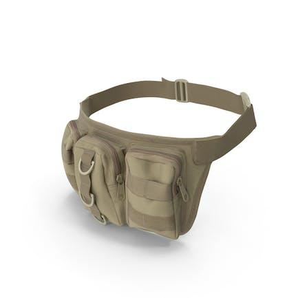 Bolsa de cintura militar