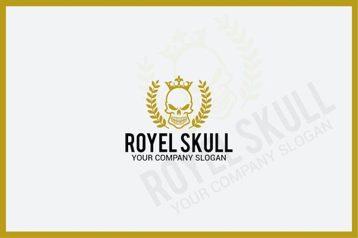 Thumbnail for royal skull