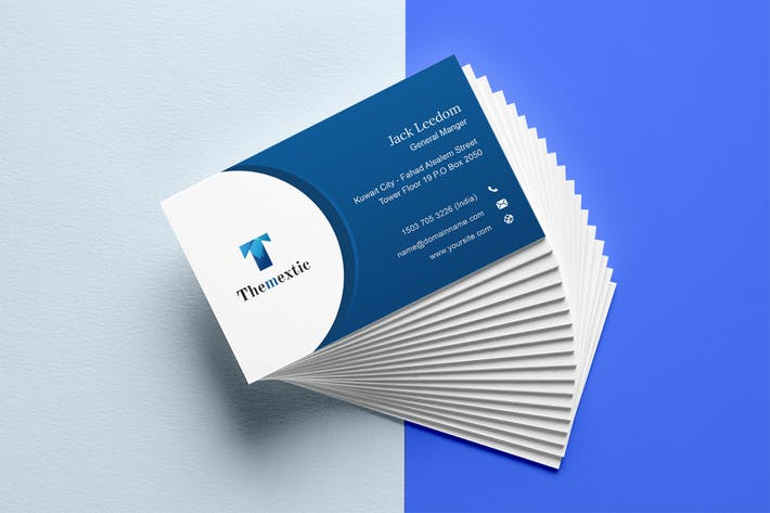 Thumbnail for Themextic - Market Business Card 3 Template
