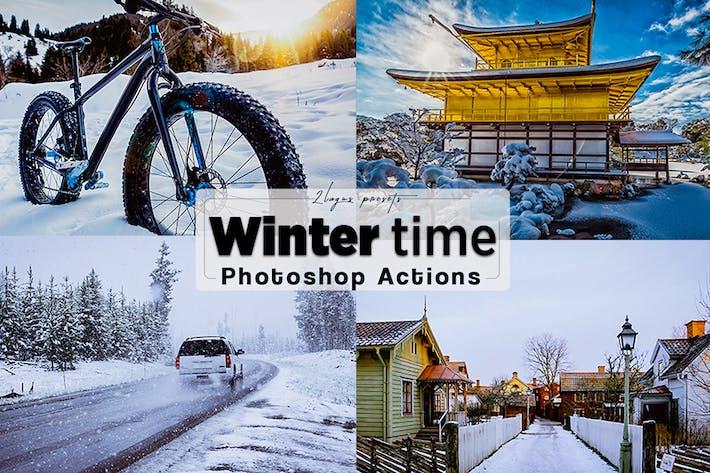 Thumbnail for Зимние действия Photoshop