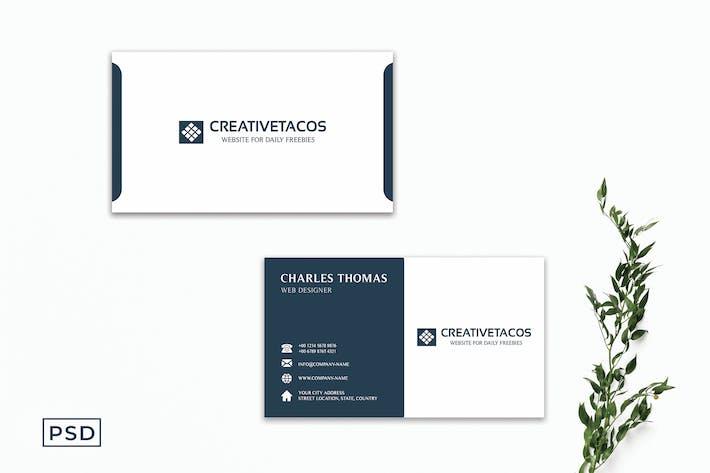 Modern Innovative Business Card Template