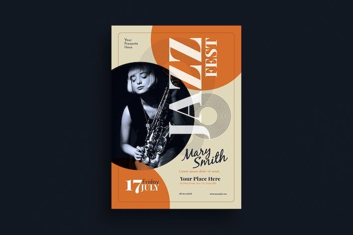 Thumbnail for Jazz Fest Flyer