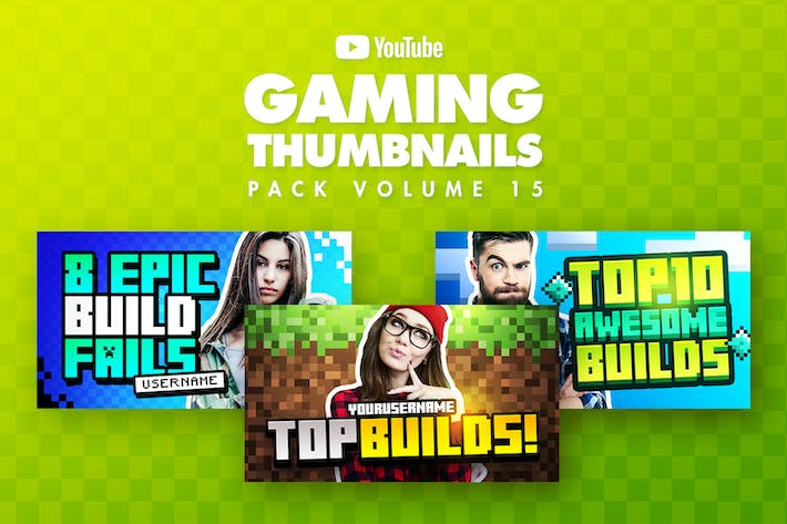 Thumbnail for Gaming Youtube Thumbnails Pack 15