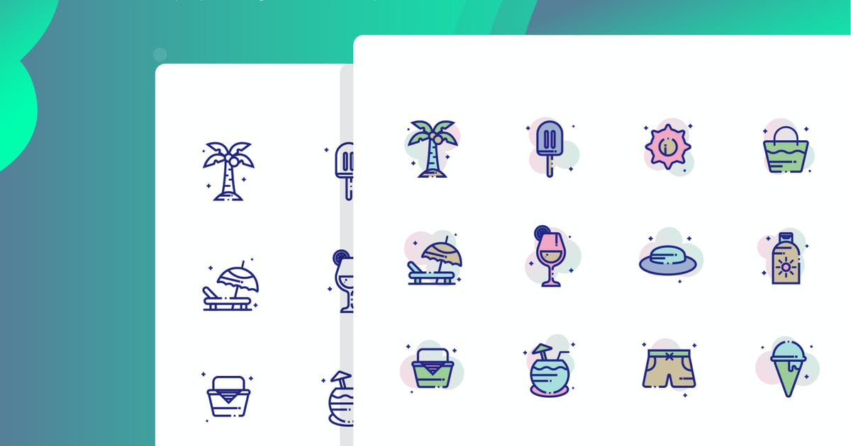 Download Beach Icon Pack by inspirasign