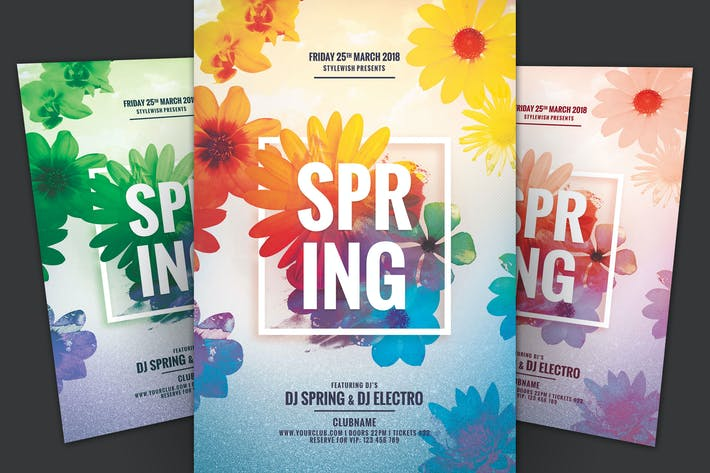 Thumbnail for dépliant Spring