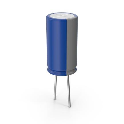 Электрический резистор синий